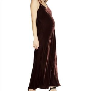 Hatch the velvet Ricky slip dress